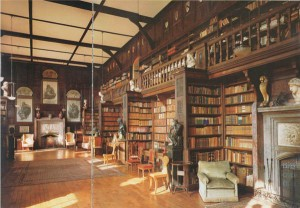 English manor library