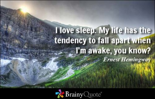 http://www.brainyquote.com/quotes/quotes/e/ernesthemi109143.html?src=t_sleep