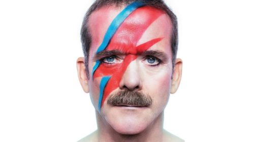 Chris Hadfield as Aladdin Sane