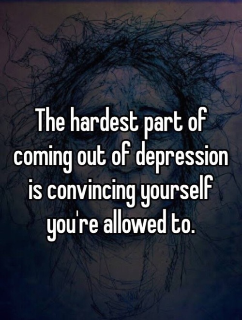 coming out of depression (1)